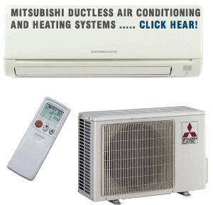 Mitsubishi Ductless Air Conditioning And Heating Systems Long Island